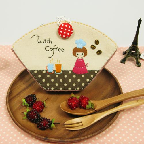 [DOUXD]커피소녀 커피필터케이스 만들기