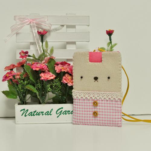 [DIY패키지] 귀염둥이 카드목걸이 - 핑크만들기