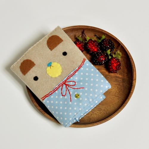 [DIY패키지] 러브모드 카드지갑 - 블루 만들기