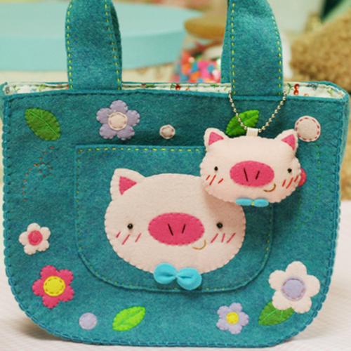 돼지미니가방