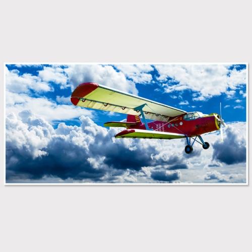 와이드 액자/ FA353 창공의 비행기 - 알루미늄 대형  슬림 모던 액자