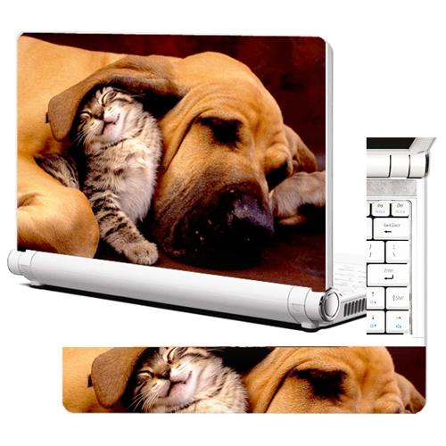NB262-고양이와 강아지-노트북스킨