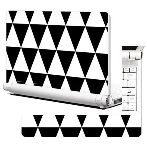 NB315 노트북스킨 북유럽 스타일 패턴5 삼각패턴