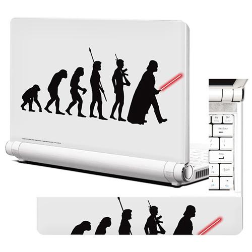 노트북스킨 / NB357 인간의 진화 단계