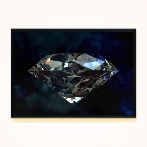 FA273 다이아몬드2 대형액자 북유럽풍액자
