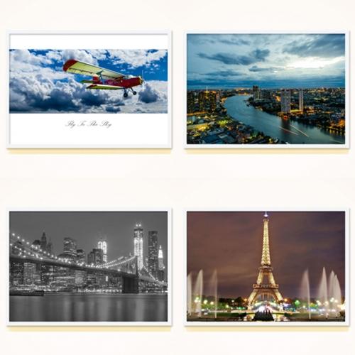 FAP01 도시 풍경 포스터 30종 중 택1 A4,A3,A2,A1 대형포스터