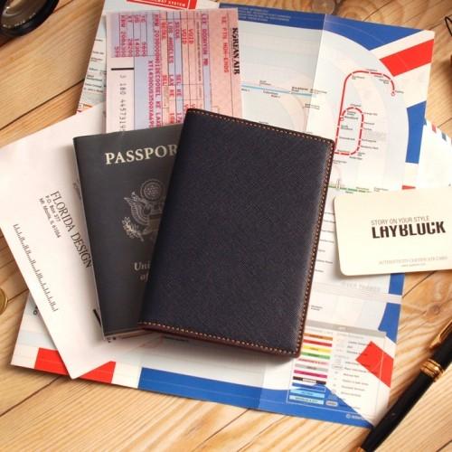 LAYBLOCK TRAVEL EASY PASSPORT ClassicNavy