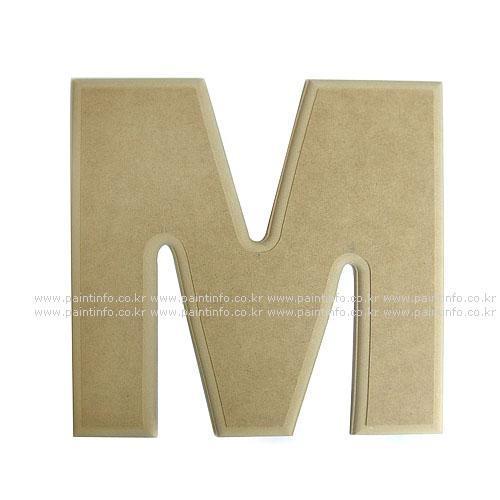 알파벳 대문자 M