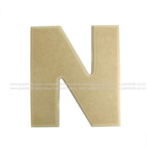 알파벳 대문자 N