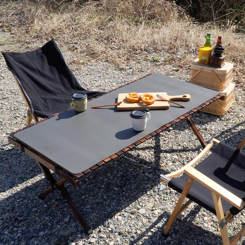 캠핑상회 감성캠핑 롤테이블 가죽 커버 매트 (3color)