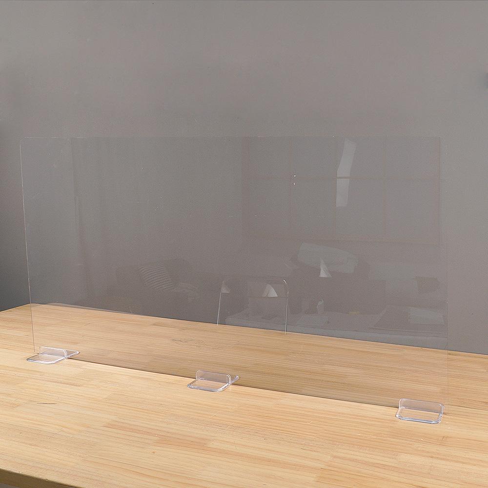 안심공간 투명 가림막 비말차단 코로나 칸막이(4size)