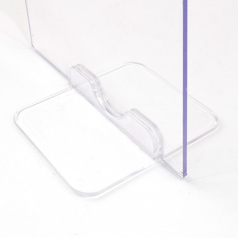 조립식 투명 아크릴 가림막 받침대 (1P)