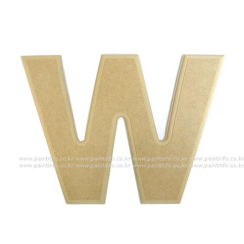 알파벳 대문자 W