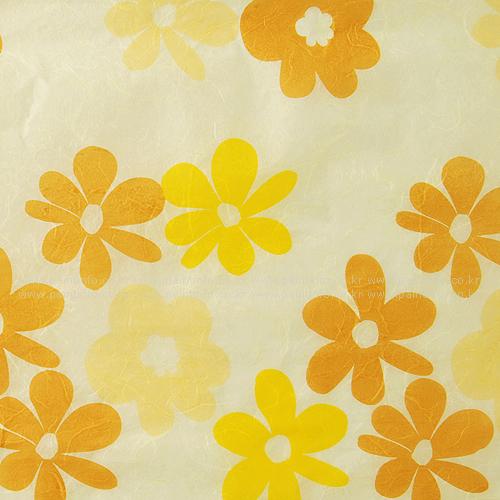 패턴한지-난꽃지8 옐로우