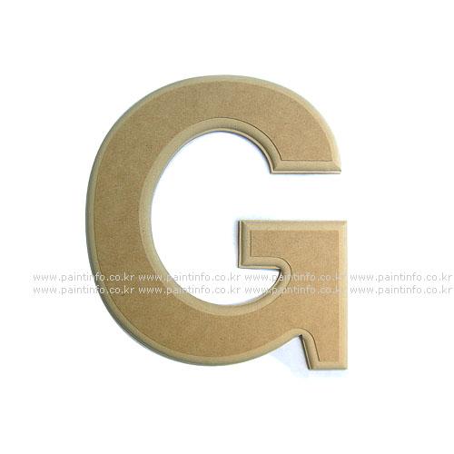 알파벳 대문자 G