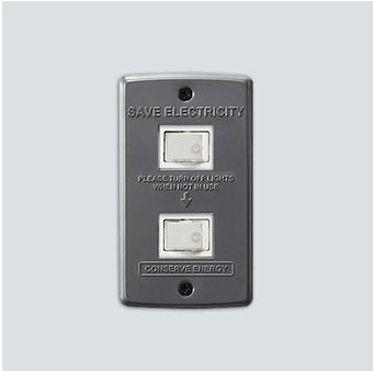 AWS Switch plate_2구 Gray