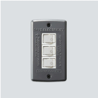 AWS Switch plate_3구 Gray