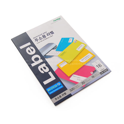 LQ-3107 점착용 프린터 주소용(16pcs)