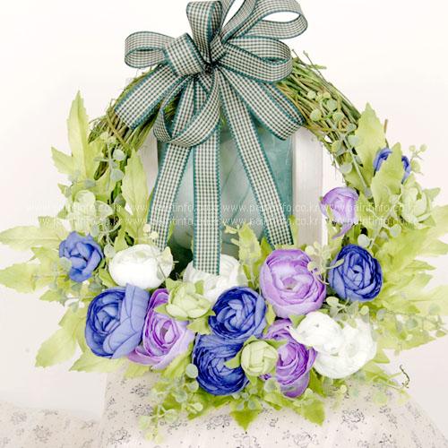 미니 캐비지 반리스 (블루+바이올렛)