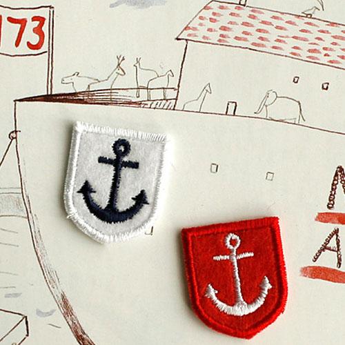 NE/Marine Series) 미니 닻-Red