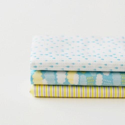 Quarter Fabric Pack -16  cloud