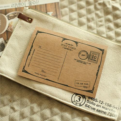 NE/Post-Card Super Big Craft Label