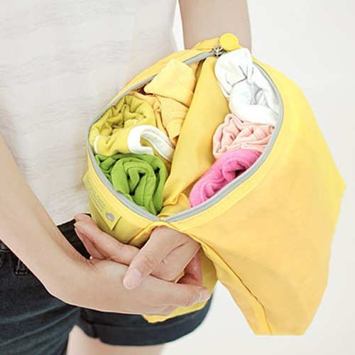 TR pouch mix - nylon(yellow)