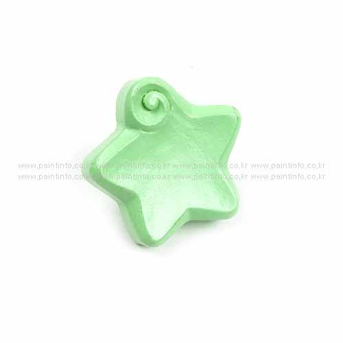 파스텔손잡이 별(그린)