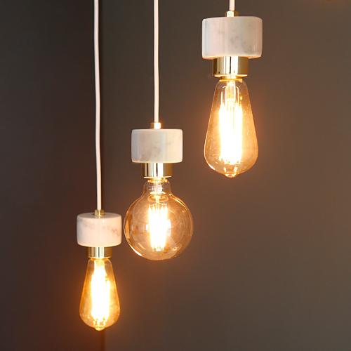[LED] 에즈 3등 펜던트 - 에디슨