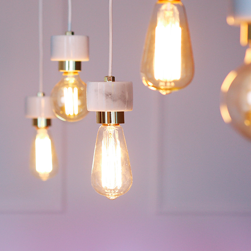 [LED] 에즈 5등 펜던트 - 에디슨