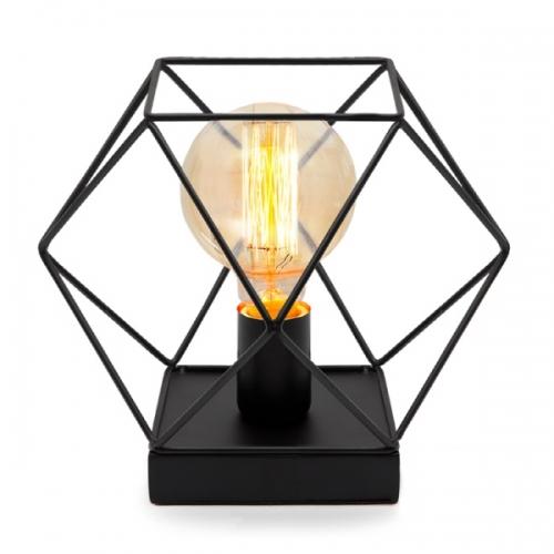 티파니 스탠드[블랙] (LED겸용/모던/테이블조명)