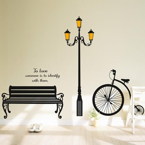 idc082-로맨틱한 가로등 거리