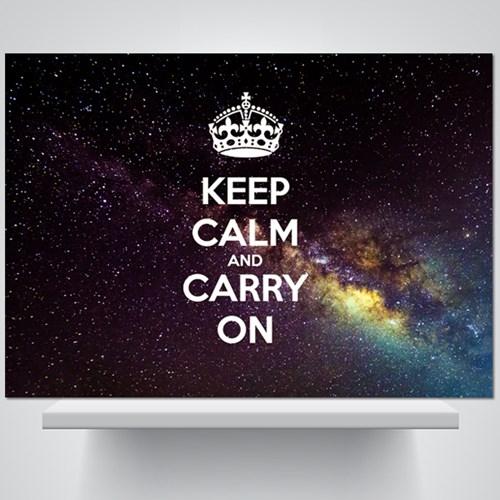Keep calm and carry on (b) - 감성사진 폼보드 액자