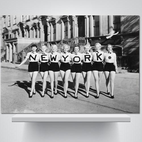 뉴욕 걸즈 - 감성사진 폼보드 액자