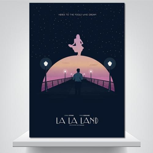 LALA LAND - 감성사진 폼보드 액자
