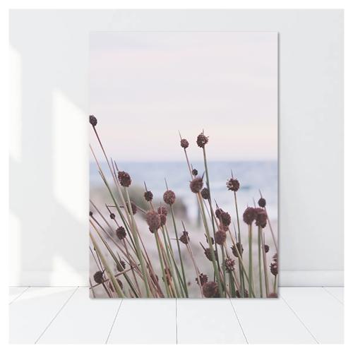 해변의 꽃 - 홈데코 보드액자