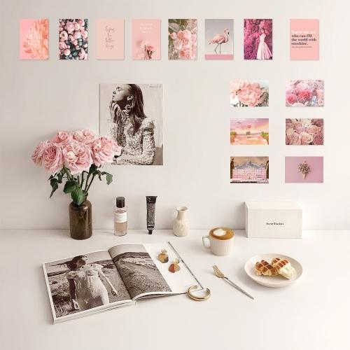 핑크 컬러테라피 15종 사진세트