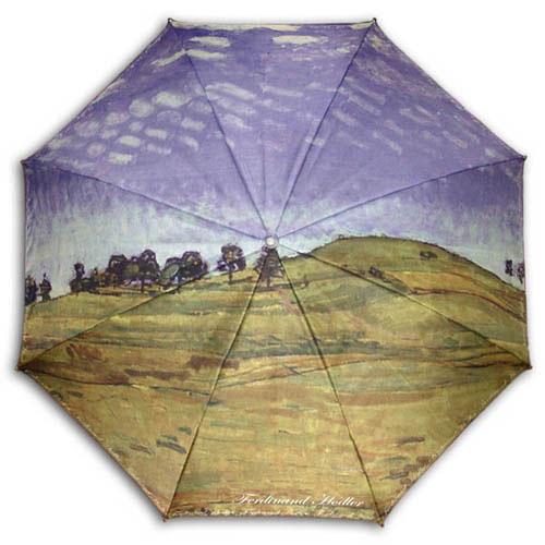 ARTemis 호들러-언덕풍경  UV자외선차단 양산