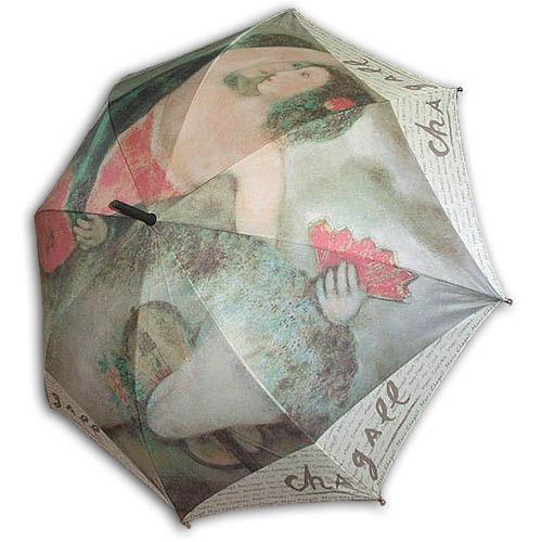 Hello RainCats 샤갈의 여자곡예사 자동우산