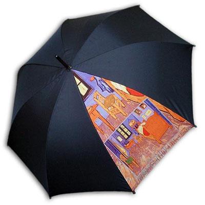 Hello RainCats 고흐의 방 한폭(W) 자동우산