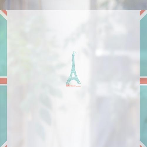 [컬러 안개시트]북유럽 스타일 CW481