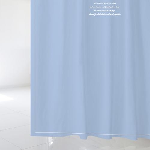 [샤워커튼]러브 메세지 04