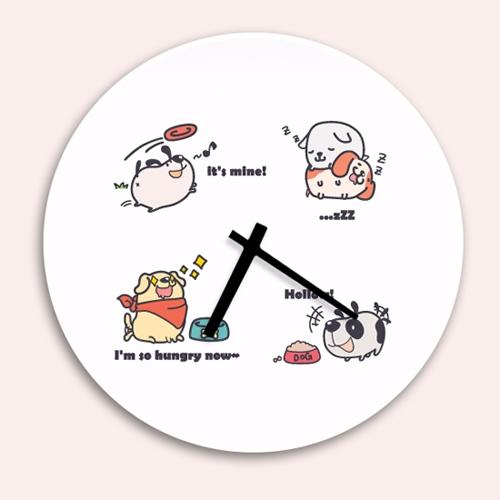 [디자인 시계]큐트도그 패밀 #6