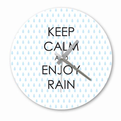 [디자인 시계]keep rain