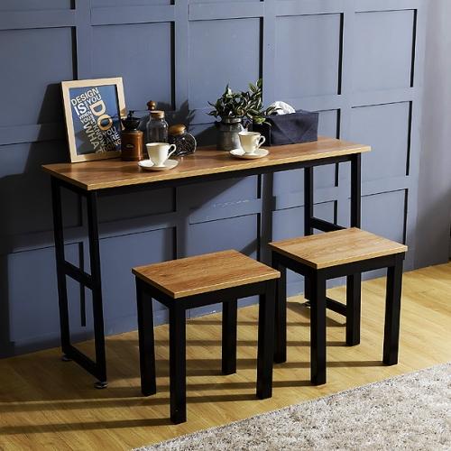 K3 스틸 1200 슬림테이블 책상 1인용세트(K3-412)