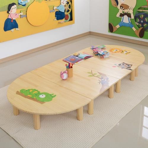 어린이집좌식책상 교구장 사물함 공부책상