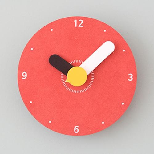 컬러원형(S) 무소음벽시계
