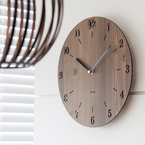 우드베이직 무소음벽시계