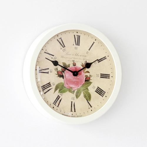 더 로즈 라운드시계 (2color)