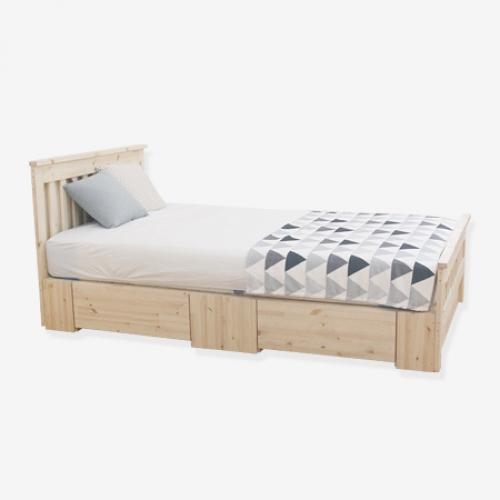 파이니 서랍형 침대 (수퍼싱글&퀸)